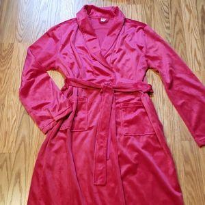ULTA  Robe, Soft, bright pink, Like New